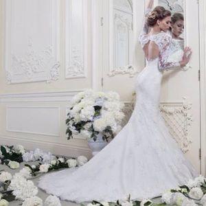 Ellis designer mermaid wedding dress